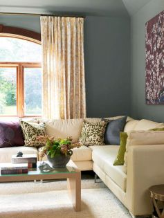 Beautiful grey living room decor ideas 36