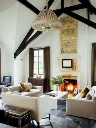 Beautiful grey living room decor ideas 37