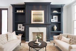 Beautiful grey living room decor ideas 40