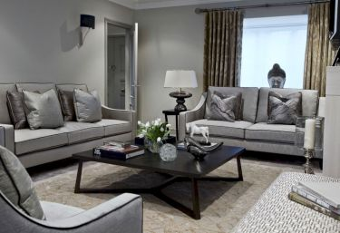 Beautiful grey living room decor ideas 51