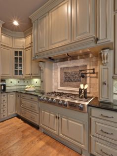 Beautiful kitchen design ideas for mobile homes 08