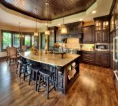 Beautiful kitchen design ideas for mobile homes 12