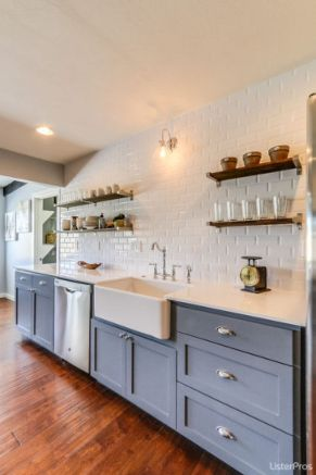 Beautiful kitchen design ideas for mobile homes 15