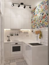 Beautiful kitchen design ideas for mobile homes 37