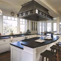 Beautiful kitchen design ideas for mobile homes 52