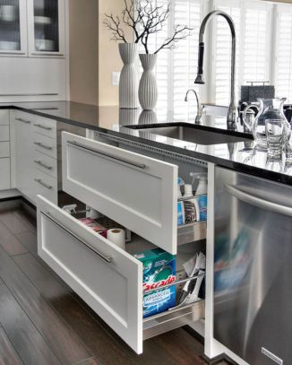 Beautiful kitchen design ideas for mobile homes 63