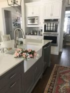 Beautiful kitchen design ideas for mobile homes 74