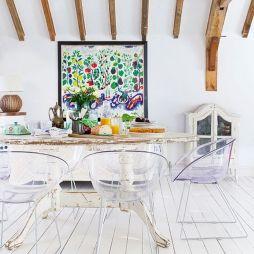 Beautiful shabby chic dining room decor ideas 02