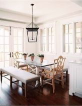 Beautiful shabby chic dining room decor ideas 08