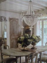 Beautiful shabby chic dining room decor ideas 10
