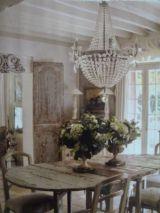 Beautiful shabby chic dining room decor ideas 10