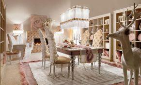 Beautiful shabby chic dining room decor ideas 33
