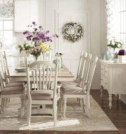 Beautiful shabby chic dining room decor ideas 44