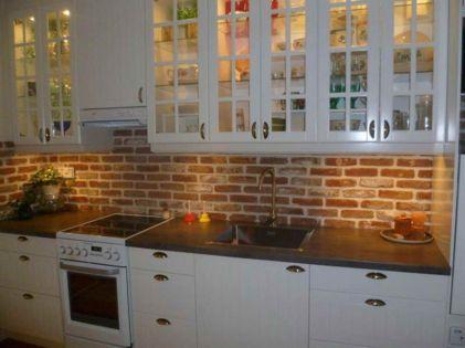 Brick kitchen 21