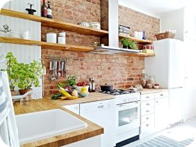 Brick kitchen 24