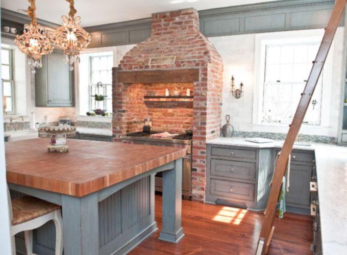 Brick kitchen 75