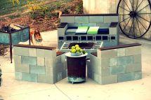 Concrete Block Outdoor Furniture