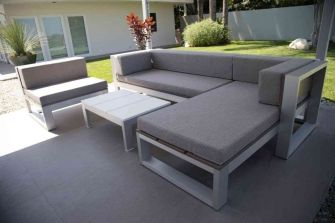 Cinder block furniture backyard 44