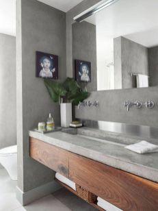Cool bathroom counter organization ideas 13