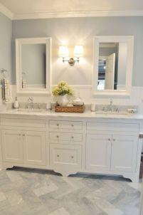 Cool bathroom counter organization ideas 18
