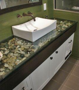 Cool bathroom counter organization ideas 22