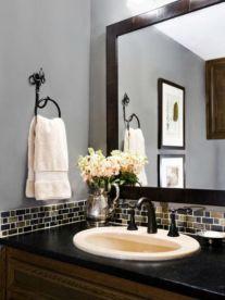 Cool bathroom counter organization ideas 30
