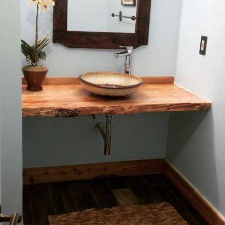 Cool bathroom counter organization ideas 37