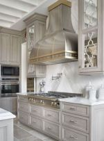 Cool grey kitchen cabinet ideas 02