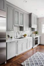 Cool grey kitchen cabinet ideas 29