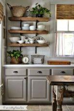 Cool grey kitchen cabinet ideas 30