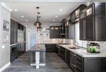Cool grey kitchen cabinet ideas 41