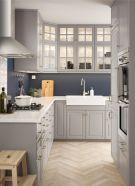Cool grey kitchen cabinet ideas 44