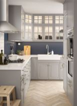 Cool grey kitchen cabinet ideas 44