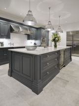 Cool grey kitchen cabinet ideas 52