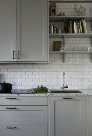 Cool grey kitchen cabinet ideas 74
