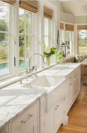 Cool kitchens design ideas with bay windows 19