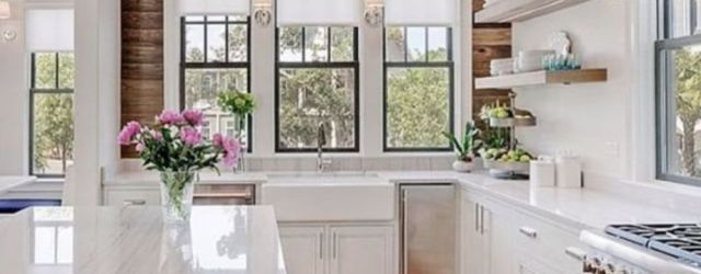 Cool kitchens design ideas with bay windows 33