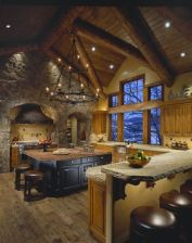 Cool kitchens design ideas with bay windows 38