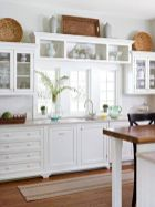 Cool kitchens design ideas with bay windows 49
