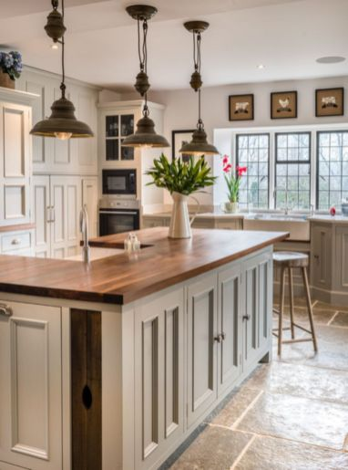 Cool kitchens design ideas with bay windows 51