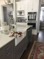 Cool kitchens design ideas with bay windows 55