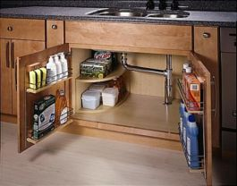Corner kitchen cabinet storage 01