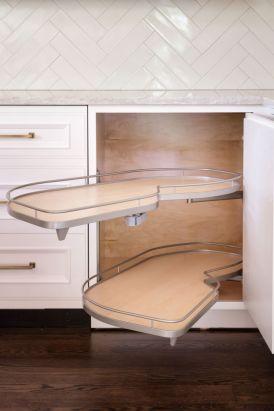 Corner kitchen cabinet storage 15