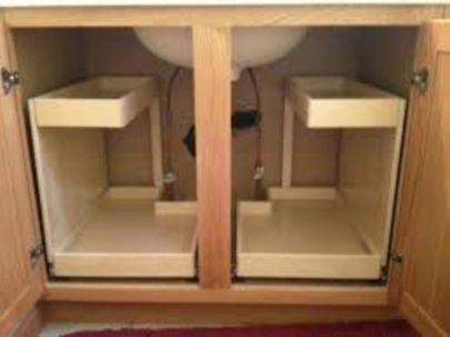 Corner kitchen cabinet storage 17