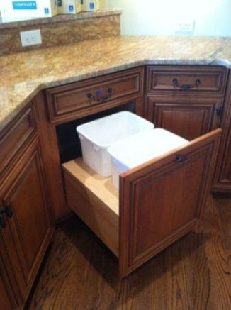 Corner kitchen cabinet storage 18