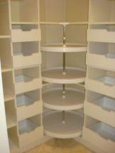 Corner kitchen cabinet storage 26