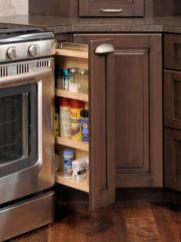 Corner kitchen cabinet storage 34