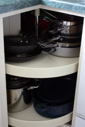 Corner kitchen cabinet storage 35