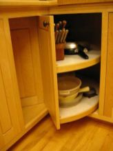 Corner kitchen cabinet storage 37
