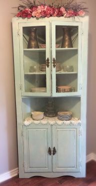 Corner kitchen cabinet storage 48
